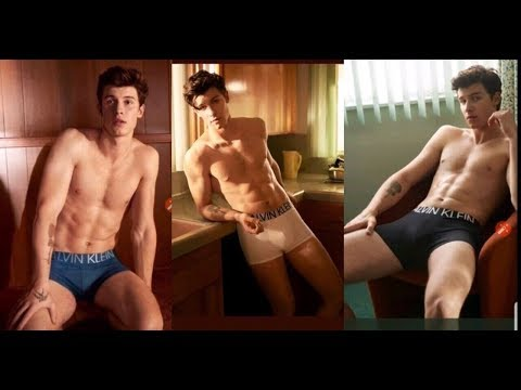 Shawn Mendes Calvin Klein Ad Video And Photos