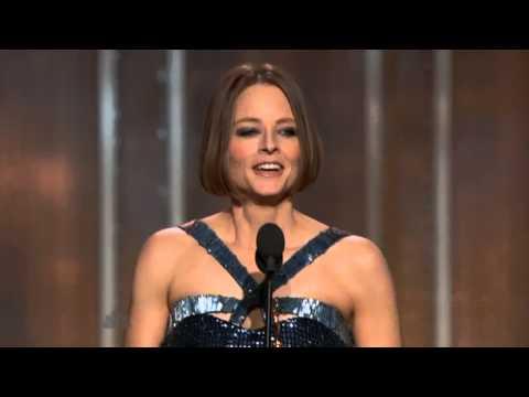Jodie Foster - Golden Globes 2013 Full Speech. [Extraordinary]