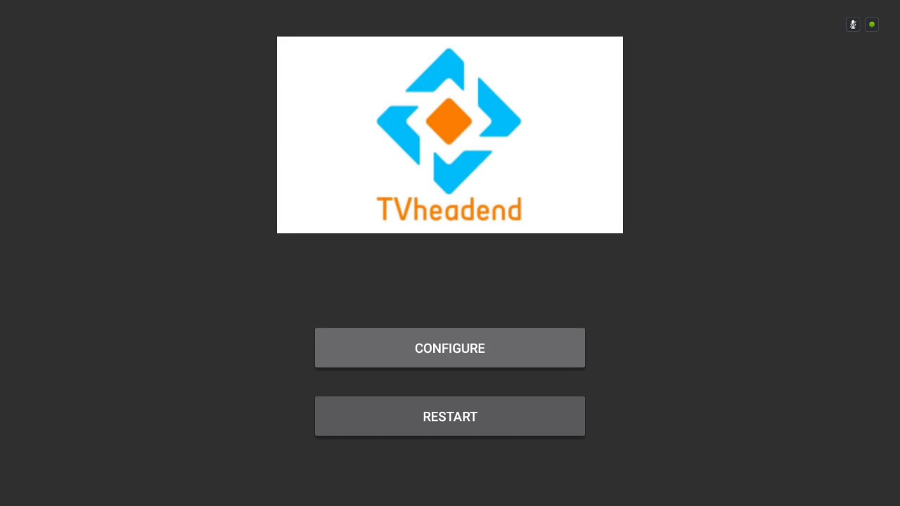 TVheadend on nVidia Shield TV