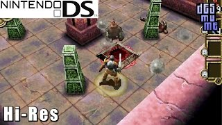 Dungeon Explorer: Warriors of Ancient Arts - Nintendo DS Gameplay High Resolution (DeSmuME)