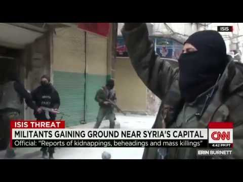 ISLAMIC STATE Gaining Ground Near Syria's Capital (Yarmouk Refugee Camp Getting Smothered)