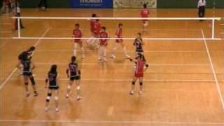 天皇杯皇后杯2009女子1回戦「東九州龍谷×NEC」.mpg