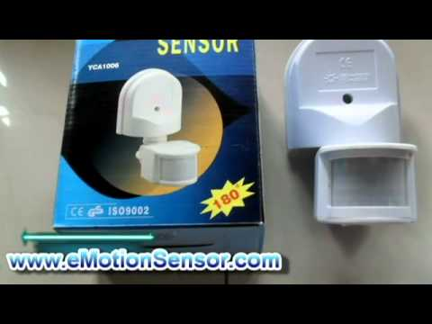 How to Install a Motion Sensor in Your    Home     YouTube