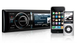 Kenwood KIV 700 iPhone Connected Stereo System