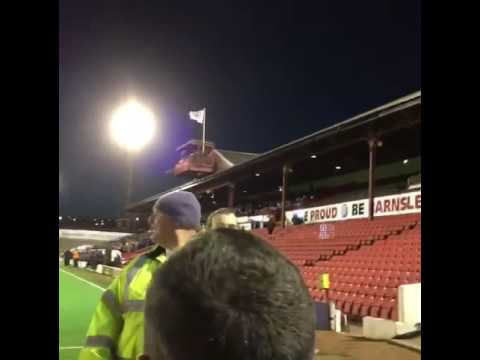 """Owen Coyle Is A Wanker"" Chant! Blackburn Rovers Protest At Barnsley"