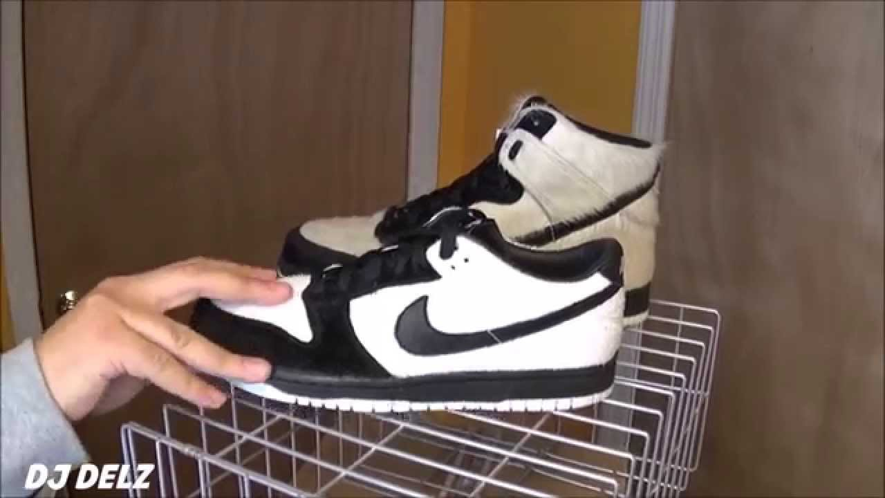 competitive price 61065 fcdf3 Nike Dunk Low Ueno Panda Shoe Review VS Japan Exclusive Dunk High  Sneaker Cage With  DjDelz