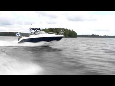 Скоростной спортивный катер Aquador 21 Walk Around | Максимальная скорость катера 92 км/ч