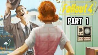 Let's Play Fallout 4 Deutsch #01 - Wenn der Vault-Tec-Mann klingelt