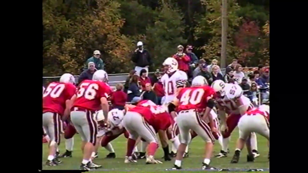 Beekmantown - Saranac Football  10-2-99