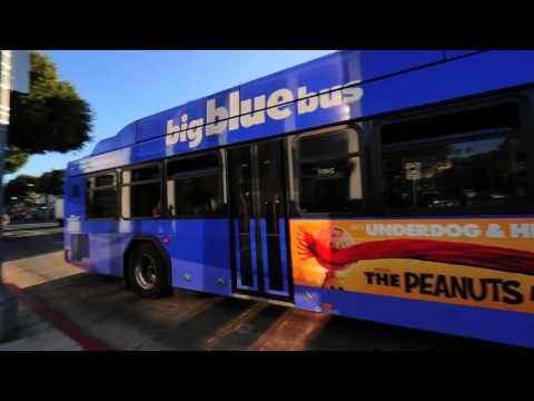 Santa Monica's Big Blue Bus plans on going electric.