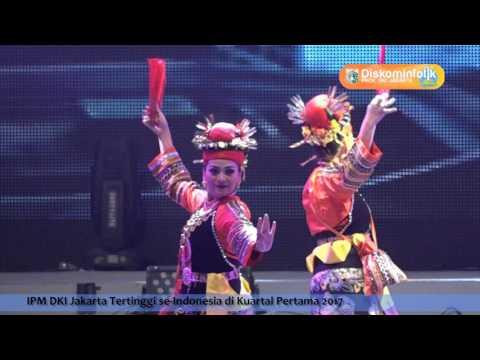 14 Juni 2017 Plt. Gub Djarot S. Hidayat Memberikan sambutan pada Pembukaan Jakarta Fair Kemayoran
