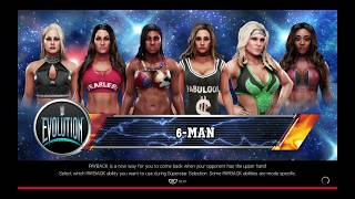 WWE 2K19 Ember VS Carmella,Nikki,Maryse,Beth,Alicia Requested 6-Diva Elimination Match