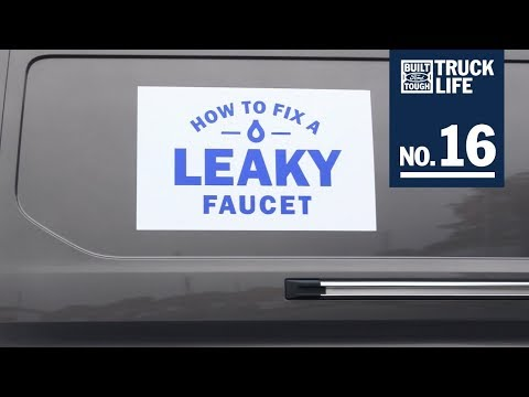 Truck Life: How To Fix A Leaky Faucet  Ford