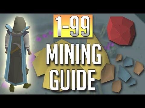 [OSRS] In-Depth 1-99 MINING Guide (2018 Best Methods)