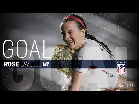 WNT vs. Trinidad & Tobago: Rose Lavelle First Goal - Oct. 10, 2018
