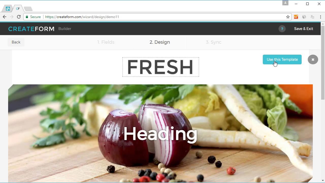 Createform Subscription Forms with Sendpulse