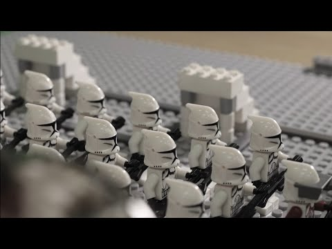 LEGO STAR WARS - CLONE WARS (Stop Motion Animation) - Ultra HD