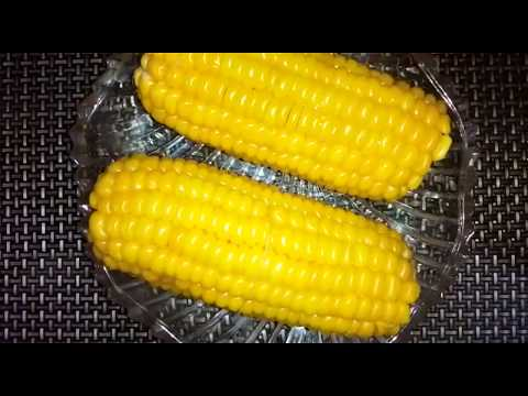 How to heat up cooked corn on the cob in microwave