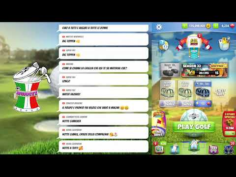 Golf Clash Livestream - Dopo la medaglia master, i 2 master munnizze - Americo e Gianluca