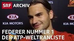 Federer Nummer 1 der ATP-Weltrangliste (2004) | SRF Archiv