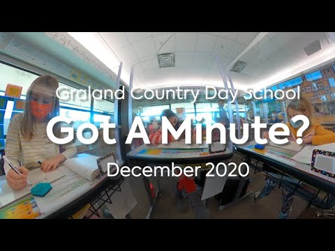 December 2020 Monthly Minute - Graland Country Day School