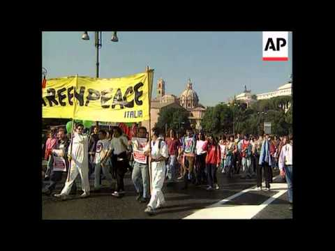 Italy - Anti Nuclear Demonstration
