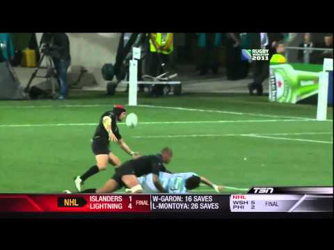 Top rugby plays