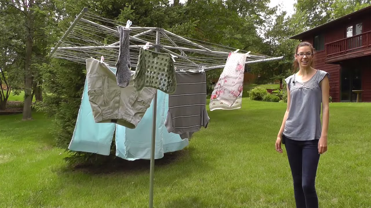 how to keep clothes soft when line drying