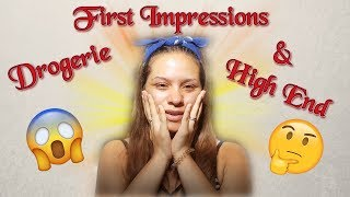 FULL FACE OF FIRST IMPRESSIONS | Drogerie & High End 🔥 | Maisa Beauty