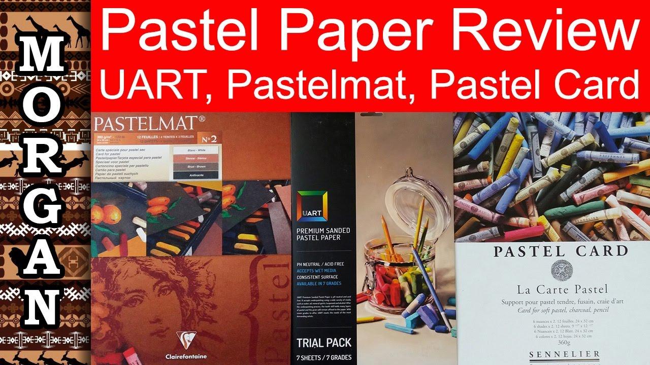 pastel papers review uart pastelmat pastel card jason morgan