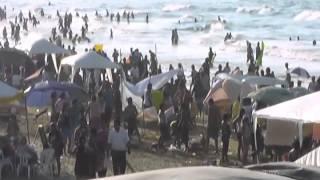Las playas de Coatzacoalcos están listas para recibir a locales y turistas.