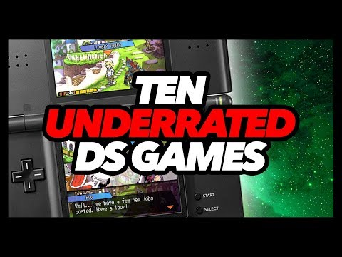 Ten Underrated DS Games