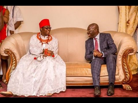 "You have my full support"", Oba of Benin assures Governor Obaseki"