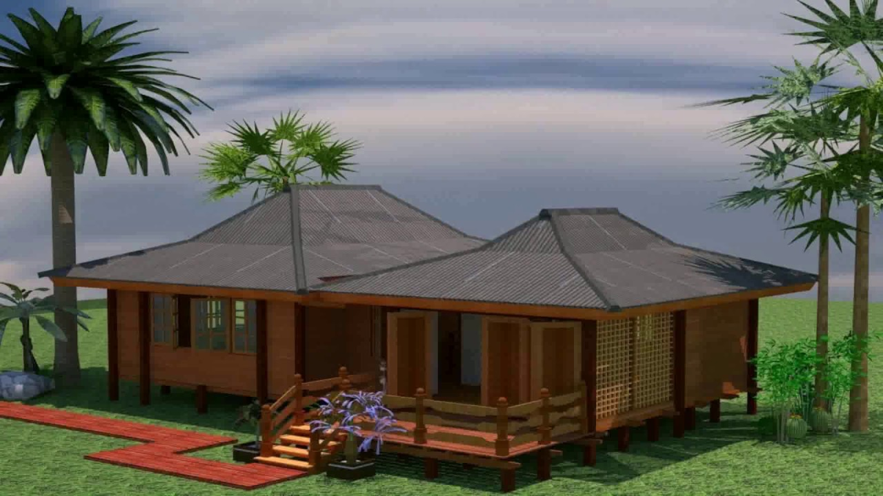 Zen type bungalow house design philippines youtube for Model house bungalow type