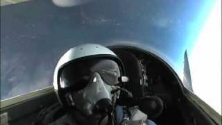 MIG29 EDGE OF SPACE FLIGHT 72,000 FEET