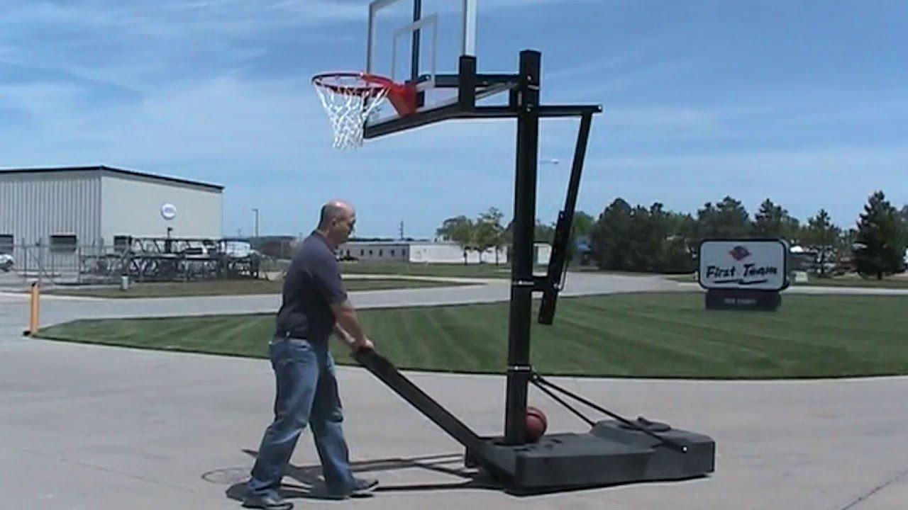 OmniSlam Portable Basketball Goal - YouTube