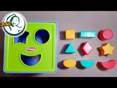 Thumbnail: Learn shapes for kids with Shape Sorter Cognitive and Matching Plastic Toy