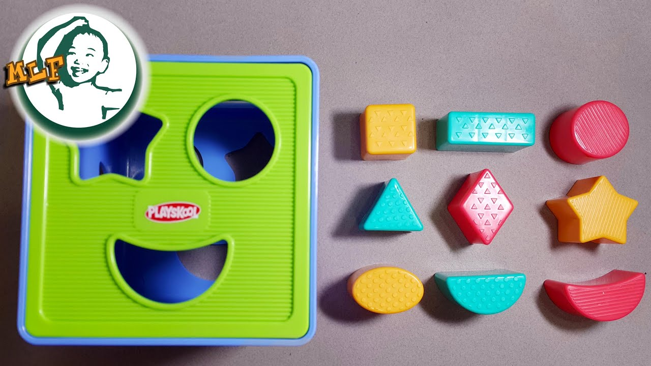 Learn shapes for kids with Shape Sorter Cognitive and Matching