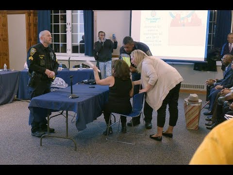 Board Of Education: N.P.D. Officers Intervene At Meeting