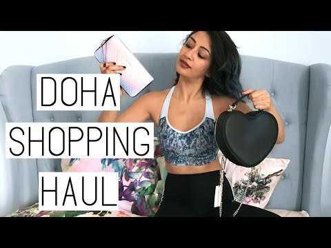 DOHA QATAR SHOPPING HAUL- MERMAID GRUNGE VIBES // HEBA ELE
