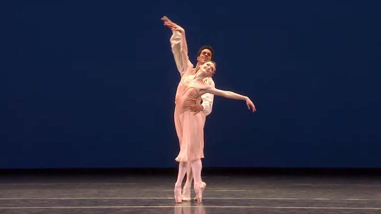Tchaikovsky Pas de Deux extract (George Balanchine; Anna Rose O'Sullivan, Marcelino Sambé)