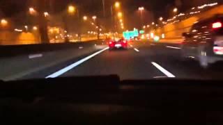 Real Street Racing BMW vs Ferrari F430 On The Way