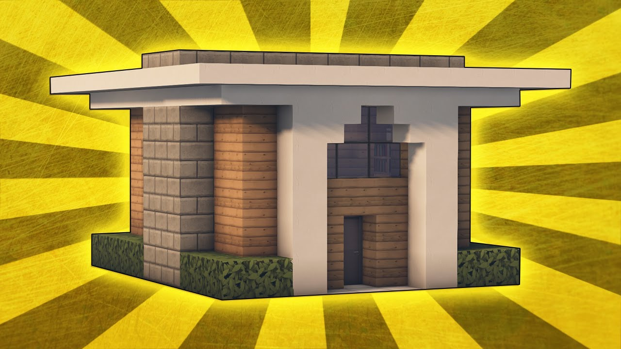Minecraft: How To Build A Simple & Compact Modern House ...