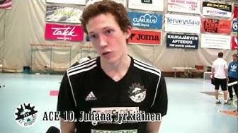 Anssi Mäkinen ja Juhana Jyrkiäinen AC Estudiantes.Ilves FS-ACE 3-2 (2-1) Futsal-Liiga 19.11.11