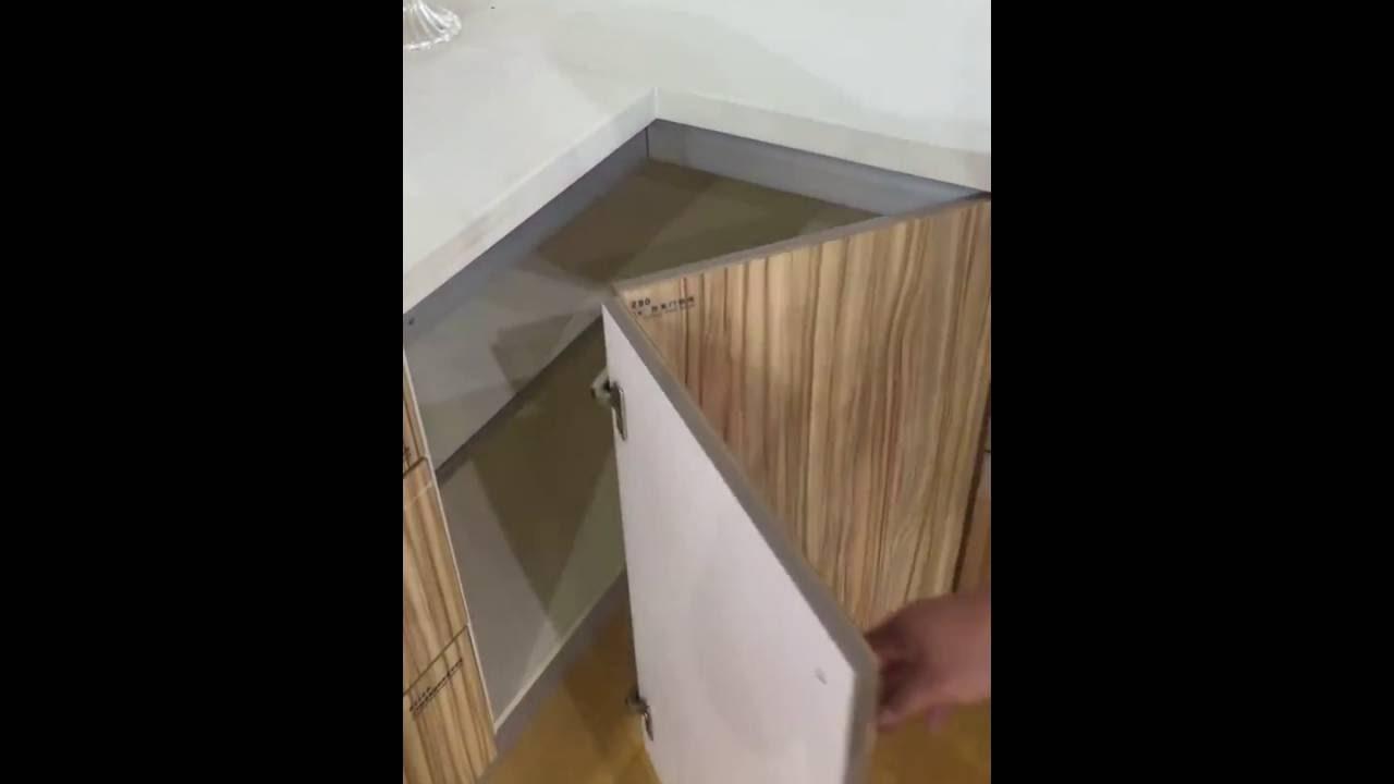 Bi Fold Hinges Cabinet Doors - YouTube
