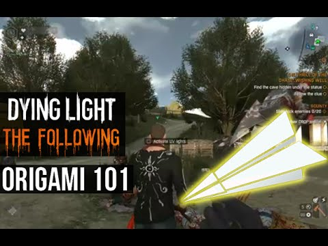 Dying light the following origami 101 blueprint paper planes dying light the following origami 101 blueprint paper planes youtube malvernweather Choice Image