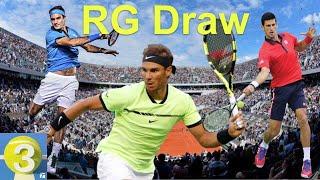 French Open Draw: Federer, Nadal & Djokovic Crowd Top Half   Three Ep. 40