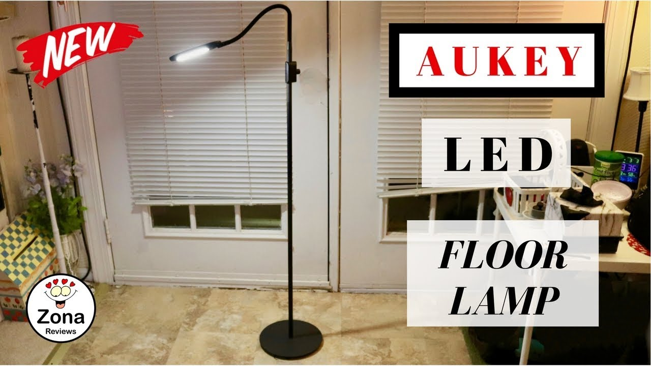 Aukey Led Floor Lamp Review Youtube