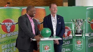 LIVE CARABAO CUP DRAW ROUND 4!