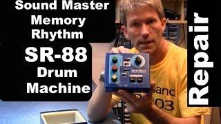 Sound Master SR-88 vintage analog drum machine repair MF#54